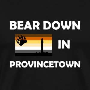Bear Down in Provincetown - Men's Premium T-Shirt