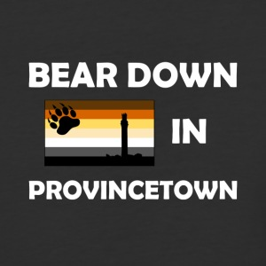 Bear Down in Provincetown - Baseball T-Shirt