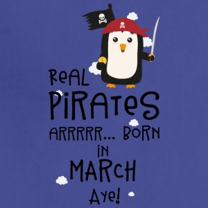 Real Pirates are born in MARCH Ssutv Aprons - Adjustable Apron