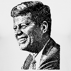 John F Kennedy Long Sleeve Shirts - Men's Long Sleeve T-Shirt by Next Level