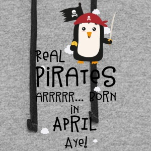 Real Pirates are born in APRIL Slwys Hoodies - Colorblock Hoodie