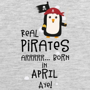 Real Pirates are born in APRIL Slwys Sportswear - Men's Premium Tank