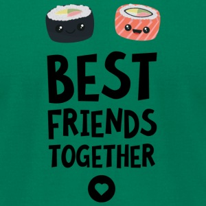 Sushi Best friends Heart Svbua T-Shirts - Men's T-Shirt by American Apparel