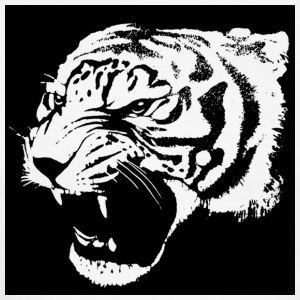 Tiger Roaring T-Shirts - Men's Ringer T-Shirt
