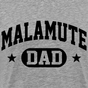 Malamute Dad T-Shirts - Men's Premium T-Shirt