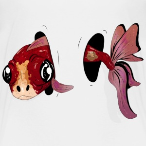 Fish through hole Baby & Toddler Shirts - Toddler Premium T-Shirt