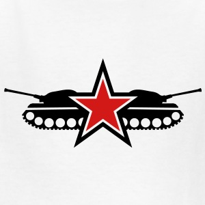 STar tank military army navy fighter stars emblem Kids' Shirts - Kids' T-Shirt