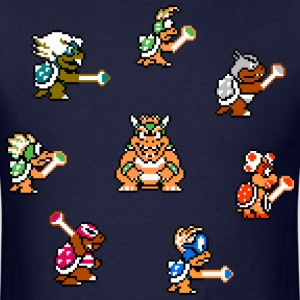 Koopalings Pixel Art - Men's T-Shirt