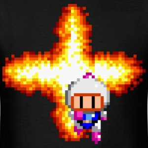 Bomberman Pixel Art - Men's T-Shirt