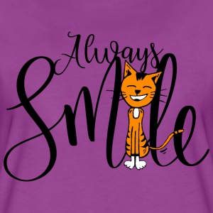 Always smile - Women's Premium T-Shirt