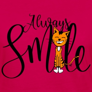 Always smile - Women's Premium Long Sleeve T-Shirt