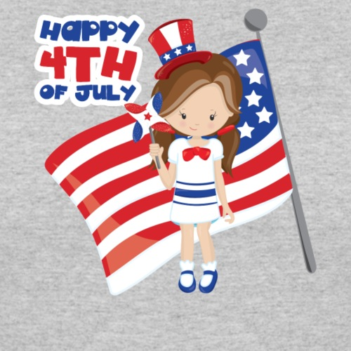 Happy 4th of July US Girl