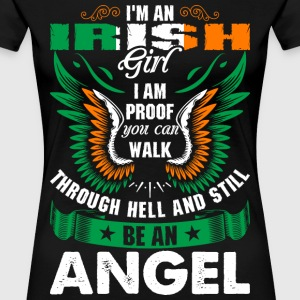 I Am An Irish Girl T-Shirts - Women's Premium T-Shirt
