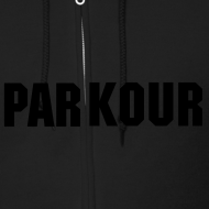 Design ~ PARKOUR ZIPPER HOODIE [GREY]