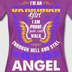 I Am An Ukrainian Girl T-Shirts - Women's Premium T-Shirt