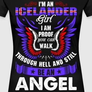 I Am An Icelander Girl T-Shirts - Women's Premium T-Shirt