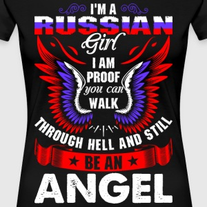 I Am A Russian Girl T-Shirts - Women's Premium T-Shirt