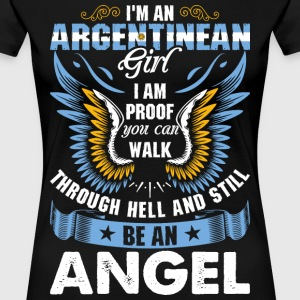 I Am An Argentinean Girl T-Shirts - Women's Premium T-Shirt