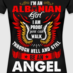 I Am An Albanian Girl T-Shirts - Women's Premium T-Shirt