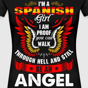 I Am A Spanish Girl T-Shirts - Women's Premium T-Shirt