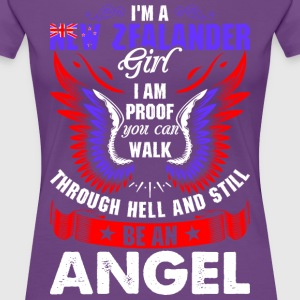 I Am A New Zealander Girl T-Shirts - Women's Premium T-Shirt