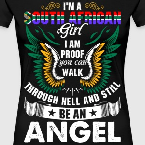 I Am A South African Girl T-Shirts - Women's Premium T-Shirt