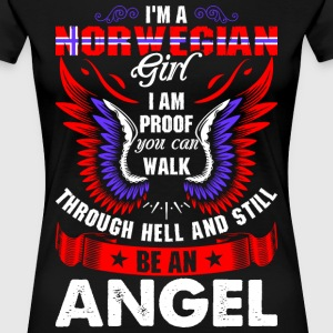 I Am A Norwegian Girl T-Shirts - Women's Premium T-Shirt