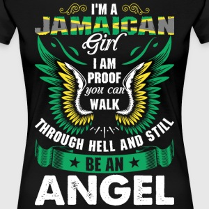 I Am A Jamaican Girl T-Shirts - Women's Premium T-Shirt