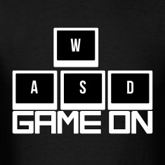 WASD - Game On T-Shirts