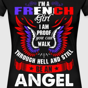 I Am A French Girl T-Shirts - Women's Premium T-Shirt
