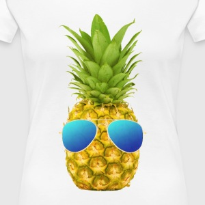 Cool Pinapple - Women's Premium T-Shirt