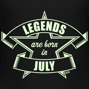 Legends are born in July (Birthday Present Gift) Kids' Shirts - Kids' Premium T-Shirt