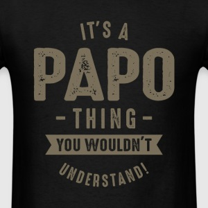 Papo Thing - Men's T-Shirt