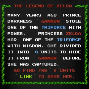 The Plot Of Zelda - Men's T-Shirt