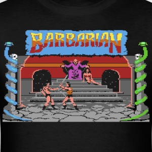 Barbarian Gameplay - Men's T-Shirt
