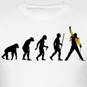 Rock Evolution - Men's T-Shirt