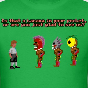 Is That A Banana In Your Pocket - Men's T-Shirt