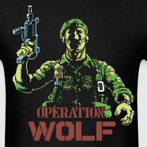 Operation Wolf - Men's T-Shirt