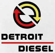slideny detroit diesel small logo 4 53 cutaway mens fine rh shop spreadshirt com detroit diesel logo history detroit diesel locomotive engine