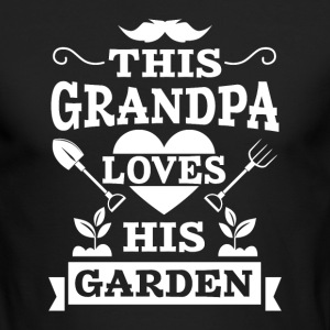 This Grandpa loves his Ga Long Sleeve Shirts - Men's Long Sleeve T-Shirt by Next Level