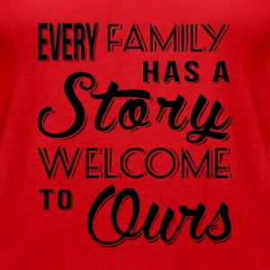 Family Story Tanks - Women's Premium Tank Top