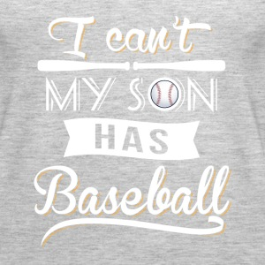 My Son has Baseball Tanks - Women's Premium Tank Top