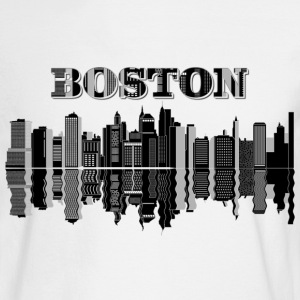 Boston City Long Sleeve Shirts - Men's Long Sleeve T-Shirt