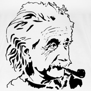 Albert Einstein - Women's Premium T-Shirt
