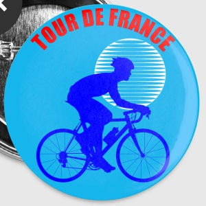 Tour De France Buttons - Large Buttons