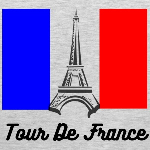Eiffel Tower France Flag Sportswear - Men's Premium Tank
