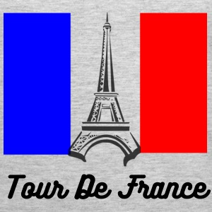 Eiffel Tower France Flag Tanks - Women's Premium Tank Top