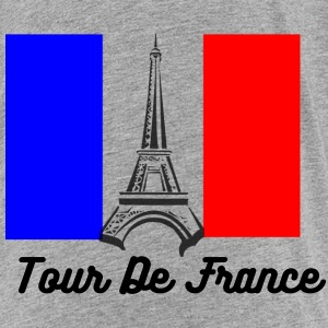 Eiffel Tower France Flag Kids' Shirts - Kids' Premium T-Shirt