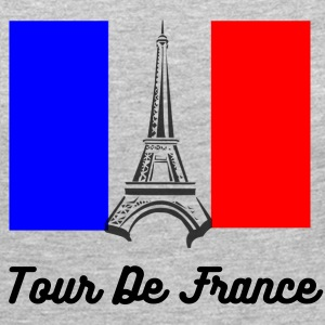 Eiffel Tower France Flag Long Sleeve Shirts - Women's Premium Long Sleeve T-Shirt