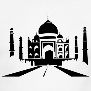 Taj Mahal T-Shirts - Men's Ringer T-Shirt
